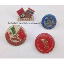 Изготовленный на заказ значок сувенира, рекламы pin отворотом (GZHY-ЛП-022)