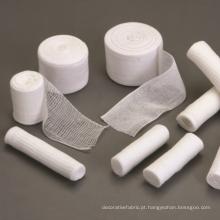 Bandagem de gaze de tecido 100% algodão puro