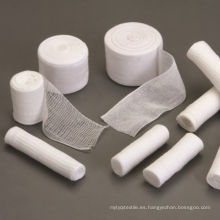 Vendaje de gasa de tela de algodón 100% puro