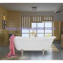 Badewanne aus Gusseisen Badewanne aus Independent-Email Badewanne aus europäischer Klassik mit Doppel-Badewanne aus Emaille