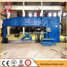 2017 SHUIPO machine Hydraulic Pressure Vessel Dish Head Spinning Machine Vessel Bottom Head Automatic Forming Machine