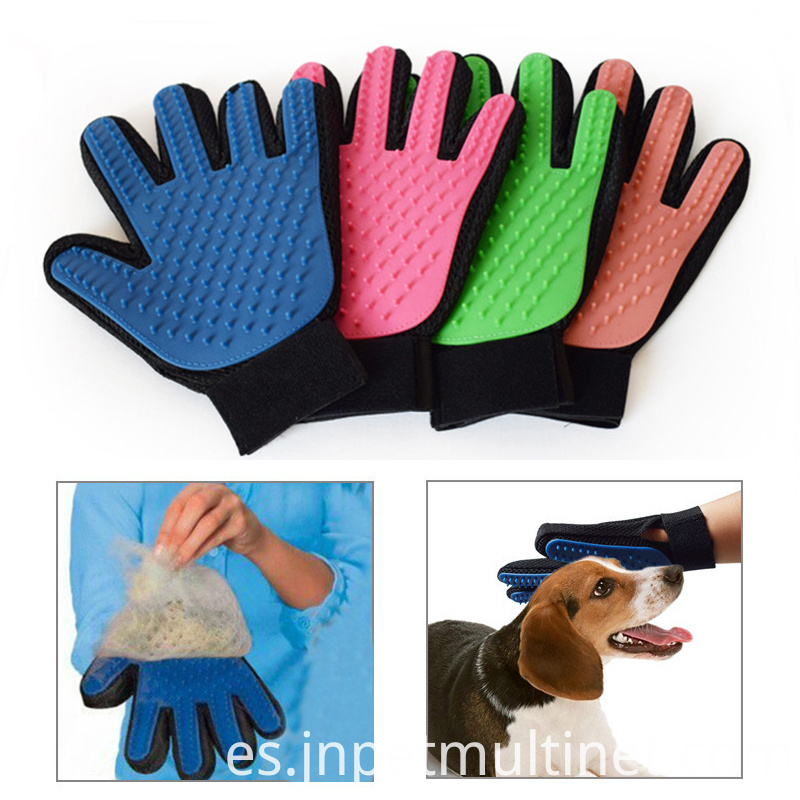 Deshedding Brush Glove For Animal Cat Supplies Pet Gloves Hair Comb Five Finger Glove For Cat 2
