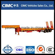 Tri-Axle Low-Bett-Auflieger 60 Tonnen