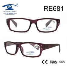 Vidrios de lectura púrpuras del vino popular del diseño (RE681)