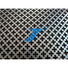 Flower Style Hole Punching, Flower Style Holes Perforated Metal Mesh