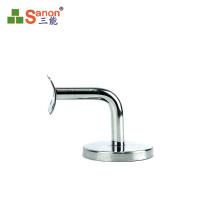 ss304 Sturdy Stainless Angle Stainless Steel Tube Bracket handrail holder