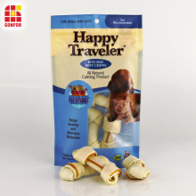 Dog Treat Packaging Zipper Stand Up Pouch