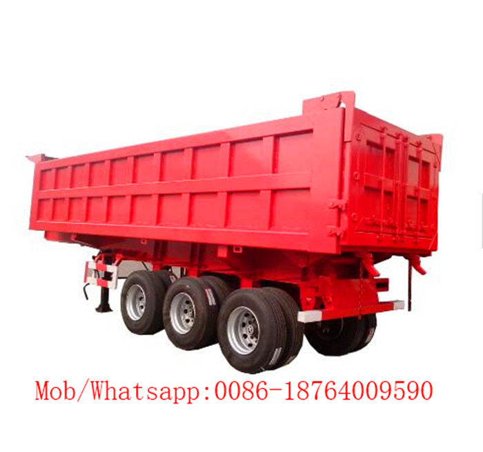 U Shape Dump Tipper Trailer