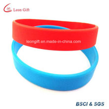 Blank Silicon Wristband for Customized Logo