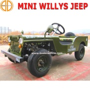 Juguetes coches Off Road-Mini Jeep Willys