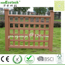 Lattice Look Outdoor Außenansicht WPC Decking Antipest Wood Railing