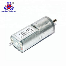 CW/CCW Running 12V DC Brushed Gear Motor ET-SGM20B used for Beauty and health Care Appliance
