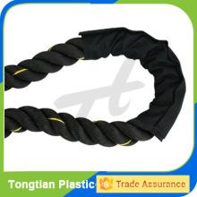 Черный цвет высокое качество с хорошим ценой боевой веревки для продажи
