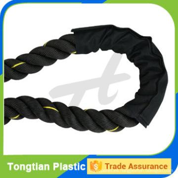 Color negro de alta calidad con buen precio Cuerdas de batalla para la venta