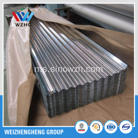 Roofing steel corrugated galvanized sheet