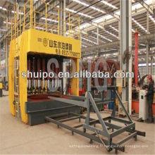 Tête de réservoir hydraulique formant l'équipement de machine / remorque