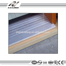 decorative aluminum extrusions profile for sliding door thresholds