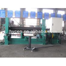 Cnc máquina de doblado de placa de 3 rodillos w11s-16 * 2000 / placa de hierro dobladora