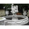 Fontaine de jardin en pierre avec fontaine en marbre (SY-F162)