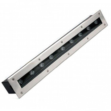 Einfarbiges lineares 9W LED Inground-Licht