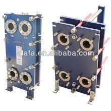 Trocador de calor de titânio, fabrico de trocador de calor, marinho trocador de calor