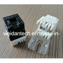 180 Degree Cat5e UTP Keystone Jack with Shutter (WD6B-005)