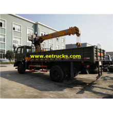 Dongfeng 10ton Telescopic Boom Crane Trucks