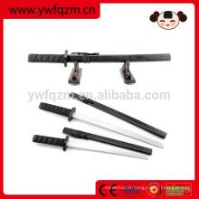 Três cores venda quente barato espada ninja