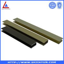 Extrusões de alumínio de estrutura de quantidade com superfície colorida