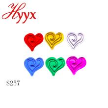 HYYX decorativo novo estilo amor coração confete