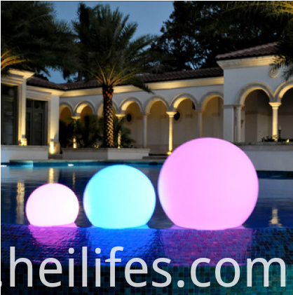 Landscape LED ball light
