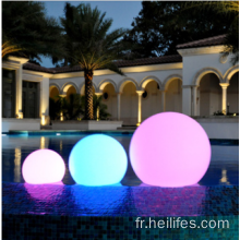 Eclairage imperméable rond en plein air Led Ball Light
