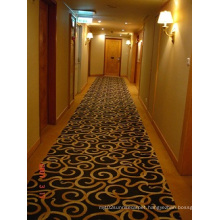 Luxury Plain Such as Hotels Corridor of Wool Carpet Mat