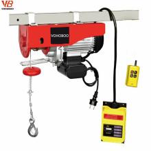 Grua elétrica do guincho de PA1000 1000kg 1ton mini para o uso de levantamento da decoração