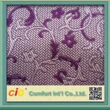 Tejidos de hilados de teñido de la tela del sofá del telar jacquar