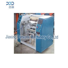 Máquina de rebobinamento de folha de alumínio SAA450