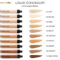 No Logo Wholesale Long Lasting Makeup Foundation and Concealer Full Coverage Liquid Private Label Vegan Concealer