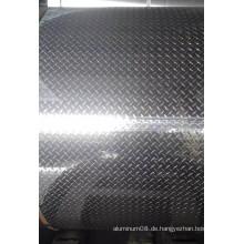 Aluminium-Diamant-Laufflächenplatte