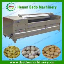 2014 Chine meilleur fournisseur de pommes de terre nettoyage machine à peeler / pomme de terre lavage machine à laver / pomme de terre brosse à laver 008613253417552