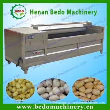 2014 China melhor fornecedor máquina de limpeza de batata peeling / batata máquina de lavar roupa / escova de batata máquina de lavar 008613253417552