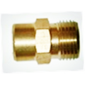 Pressure Nipple Brass G1/4F-M22x1.5M For Car Washing