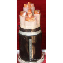 (TISENSE-YJV) Cable / coste de energía del bajo voltaje del precio bajo de la alta calidad del cable eléctrico / cable de energía flexible