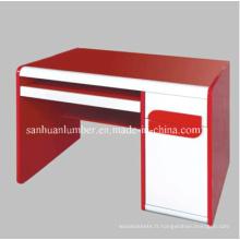 Bureau d'ordinateur / Wooden Desk / Bureau (WZH001) d'étude