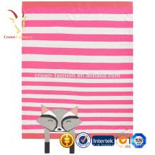 Cobertor de lance de caxemira de malha super macio luxo com padrão de Fox
