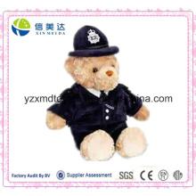 Polizist Teddybär weichen Plüschtier