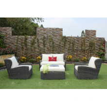New Modish Design Synthetic Resin Rattan Sofa Set For Outdoor Garden Patio or Living Room Wicker Furniture
