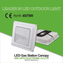 La gasolinera de la luz del pabellón de SNC LED que enciende 75w enciende la iluminación del garage