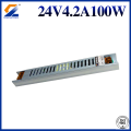 Iron metal case high efficient 2650mA 90W led driver AC DC led smps 24v