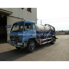 Dongfeng 8000 liters sewage suction tank truck