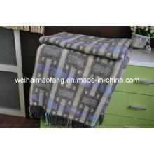 Gewebt aus Wolle gemischt werfen (NMQ-WT042)